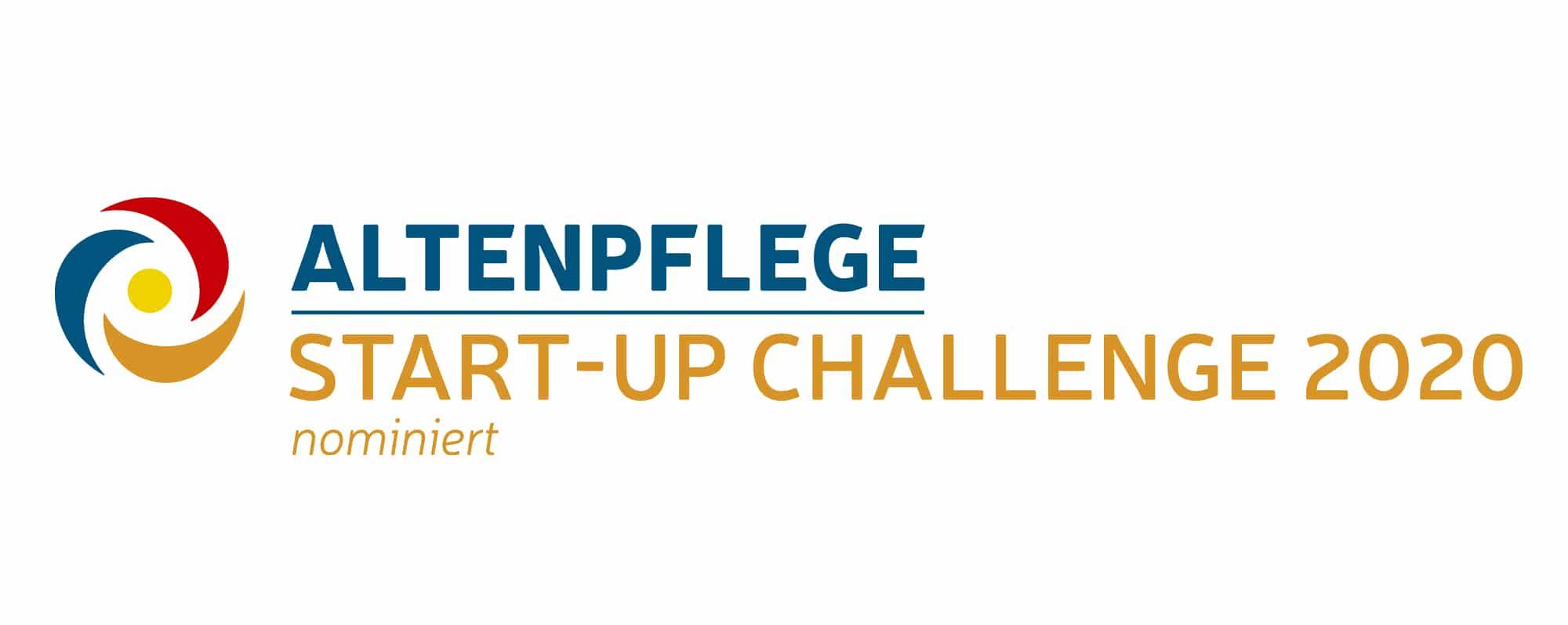 Logo nominiert für Start-Up Challenge