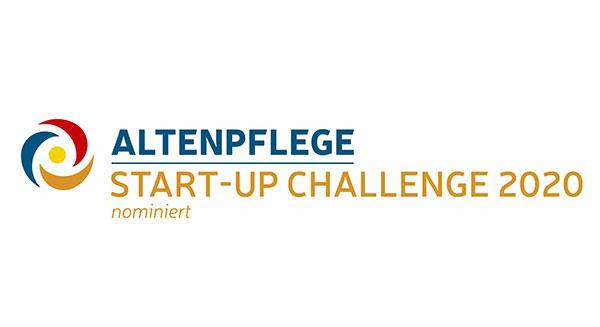 Logo nominiert für Start-Up Challenge 2020