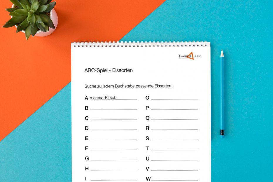ABC-Rätsel für Senioren zum Ausdrucken