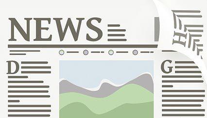 """Icon einer Zeitung mit Aufschrift """"News"""""""